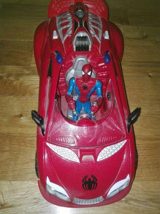 Coche juguete de Spider-Man