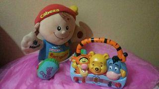 lote de juguetes para bebe