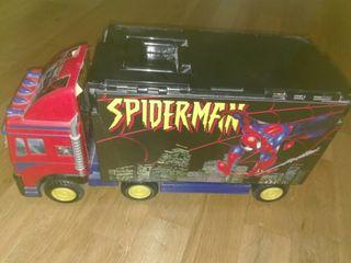 Camion ciudad Spider-Man
