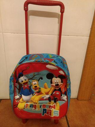 Mochila carrito Disney para niños de 1-2 años