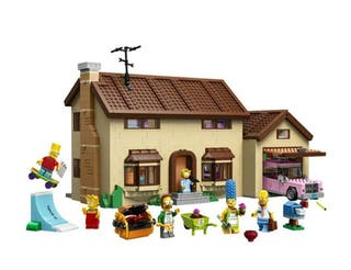 Casa The Simpsons compatible Lego