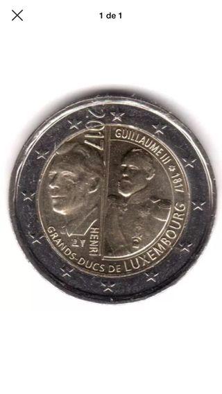 2€ luxemburgo Guillermo