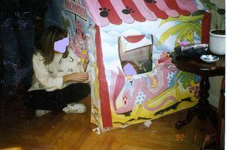 Tienda campaña juguete niño