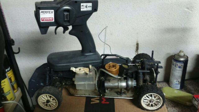 coche radiocontrol gasolina