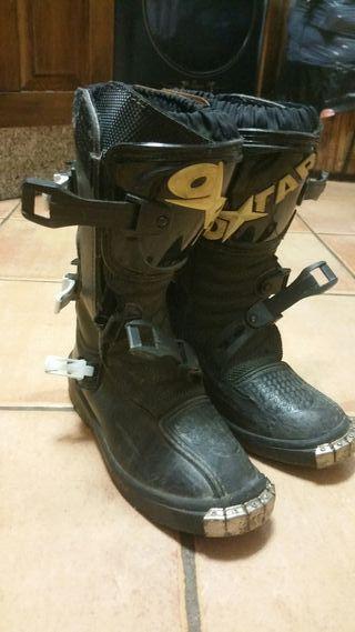 botas de motocross niño