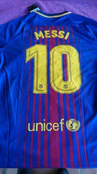 camiseta Barcelona Messi 2017 sin estrenar