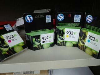 Cartuchos Hp 932 y 933 originales