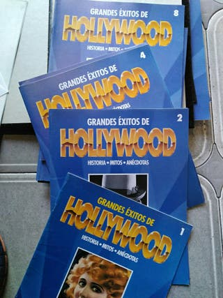 2 tomos de grandes éxitos de Hollywood