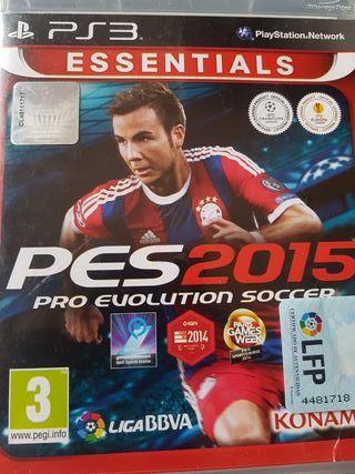 "Pro Evolution Soccer 2015 Ps3 ""Semi"""