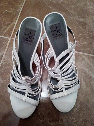Zapatos mujer tacon calvin klein