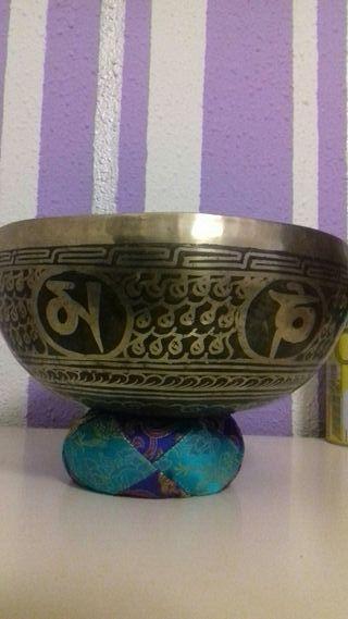 Cuenco tibetano hecho a mano