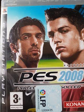 "Pro Evolution Soccer 2008 Ps3 ""Semi"""