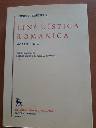 Lingüística Románica Morfología