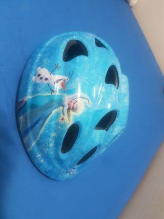 casco bici frozen