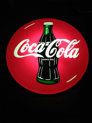 cartel luminoso Coca-Cola