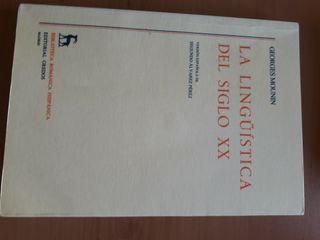 La lingüística del sXX