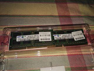 Memoria RAM 2GB 2Rx. PC3