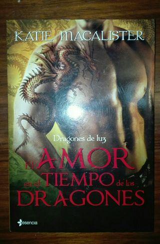 """""""El amor en el tiempo de los dragones"""" de Katie Ma"""