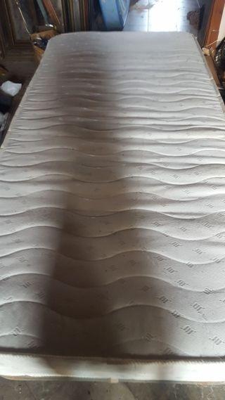 somier y colchón