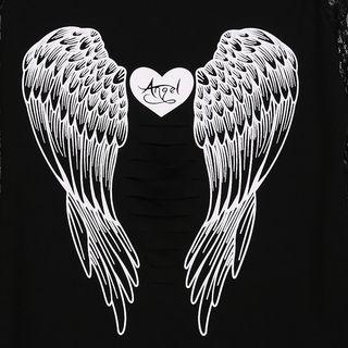 Camiseta Angel con rotos