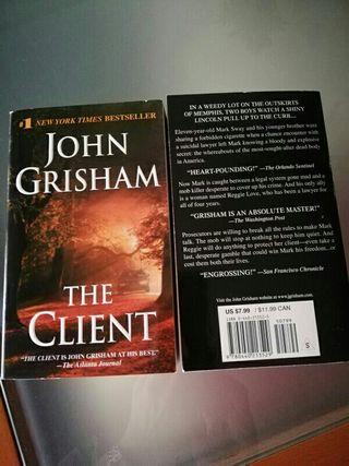 libro The Client. John Grisham