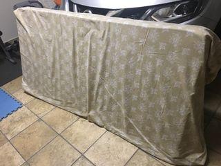 Colchón de muelles con funda 190x90x18
