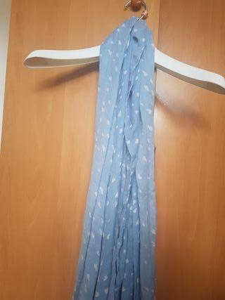 foulard Stradivarius azul corazones