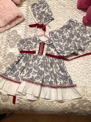 vestidos bebe tallas 24 meses