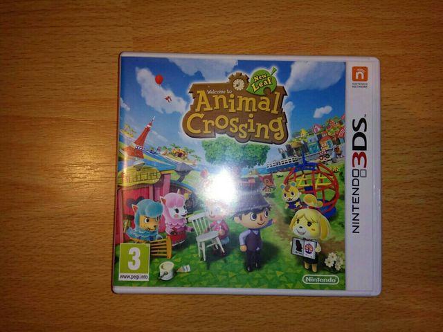 Juego Nintendo 3ds Animal Crossing De Segunda Mano Por 15 En