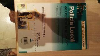 Libros oposiciones para policia local 2008
