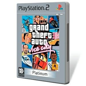 Grand theft auto Vice city Platinum PS2