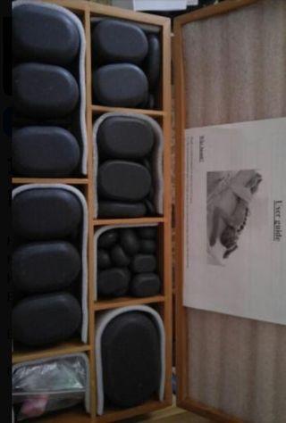 piedras masajes