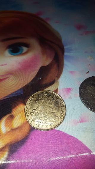 moneda atigua 1773