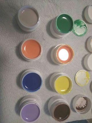 gel de colores para uñas