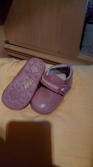 zapatos de bebe niña sin estrenar