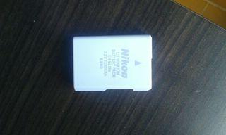Batería nikon de lithium ion