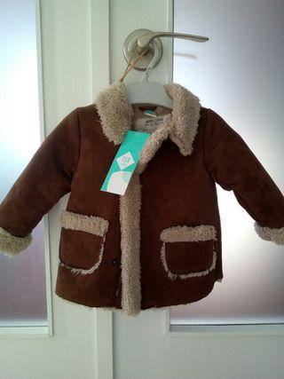 Abrigo borreguito bebe