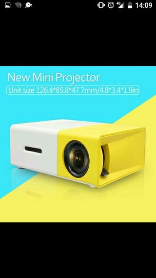proyector portatil con bateria