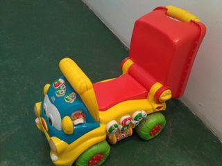 Andador coche para niño