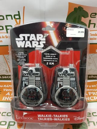 Pareja de Walkie-Talkies Star wars