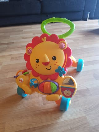 ANDADOR LEON MUSICAL FISHER-PRICE