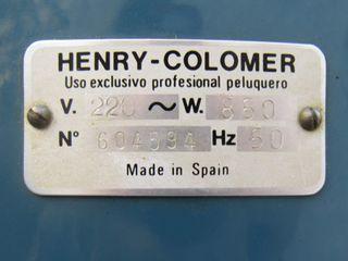 Secador de pelo professional Henry Colomer