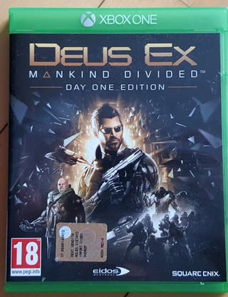 DEUX EX MANKIND DIVIDED XBOX ONE