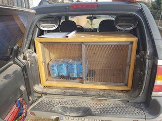 cajon transporte perros