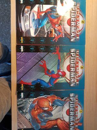 Spiderman Ultimate , tres primeros tomos.