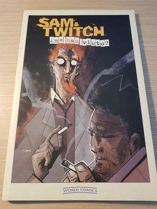 Sam y Twitch , comic Tomo.