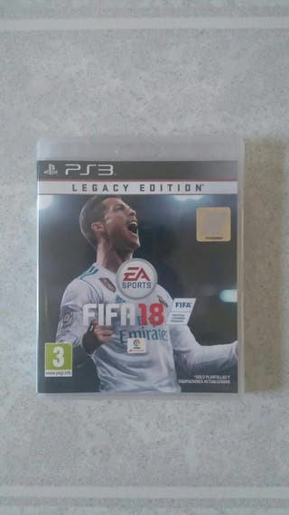 Play station 3 FIFA 18 Legacy Edition