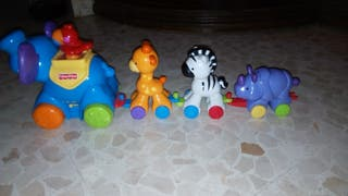 Tren de animales Fisher price