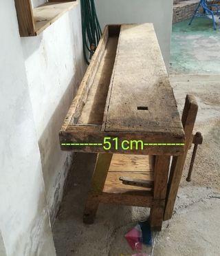 mesa carpintero antigua