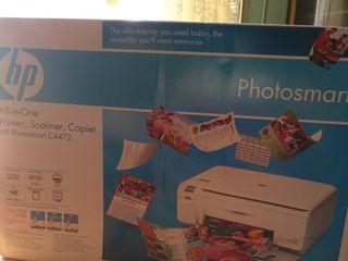 Impresor multifunción Hp Photosmart C4472